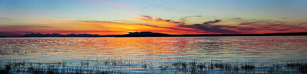 Sunset Sleeping Lady by Kyle Lavey