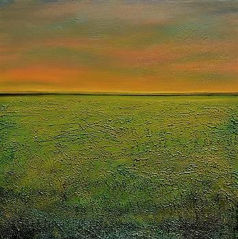 Sunset Somewhere Far and Away by Lisa Kaye