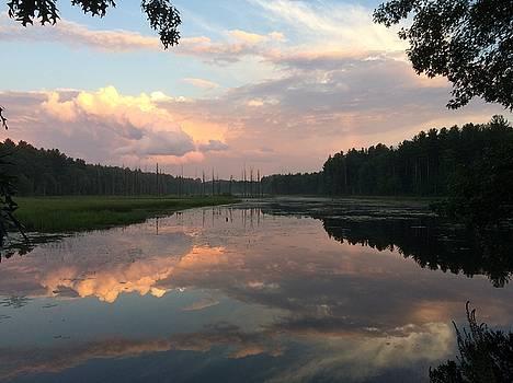 Sunset Splendor At Unquetynassat Brook   by Emerald GreenForest