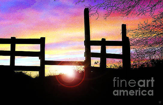 Sunset Stile by Neil Finnemore