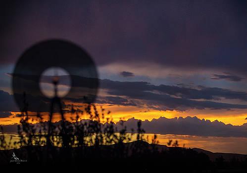 Sunset Storm Mirage by Julie Basile