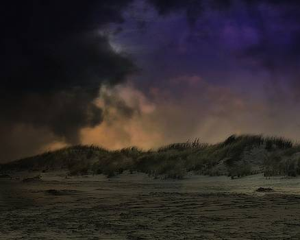John Feiser - Sunset Storm On The Dune