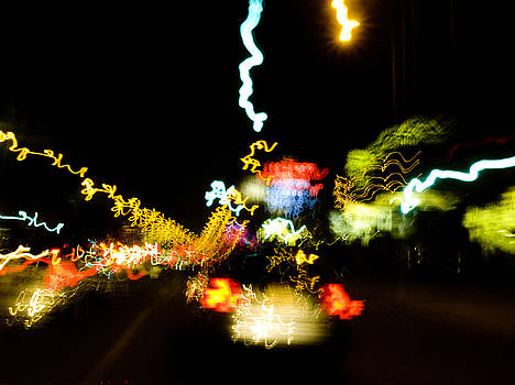 Sunset Strip at Night  by John Keedwell