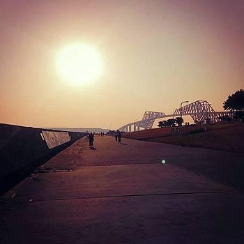 #sunset #sunsets #love_all_sky #sun by Bow Sanpo