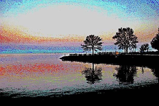 Sunset Swirls by Jeannie Allerton