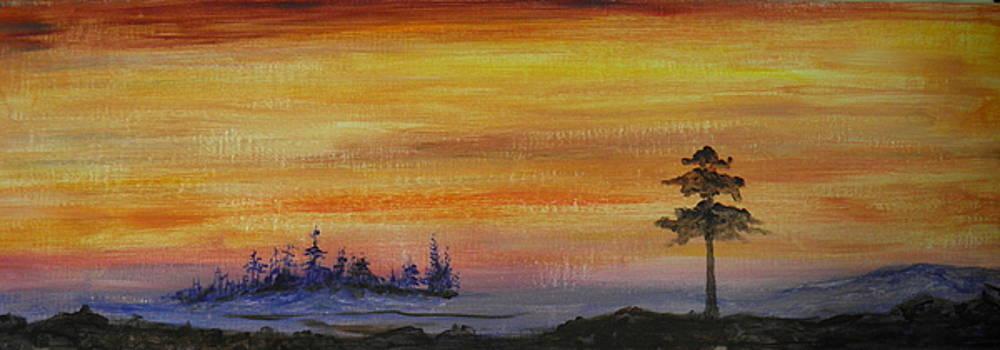 Sunset Symphony by Rhonda Myers