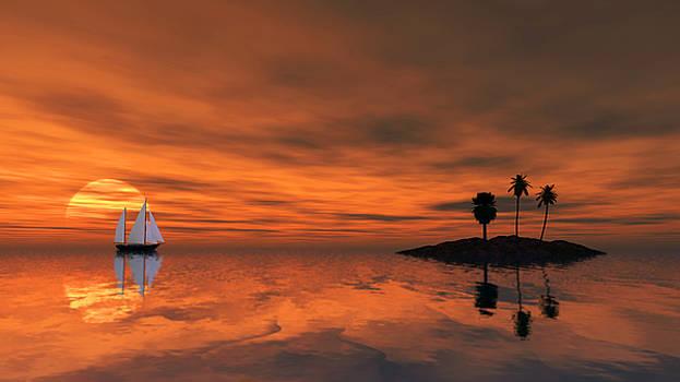 Sunset by Tauno Niilo