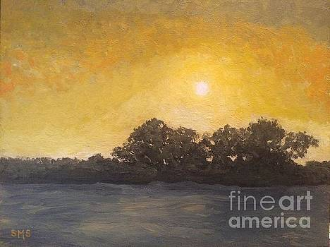Sunset Through the Fog by Stella Sherman