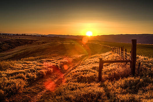Sunset Trail by Brad Stinson