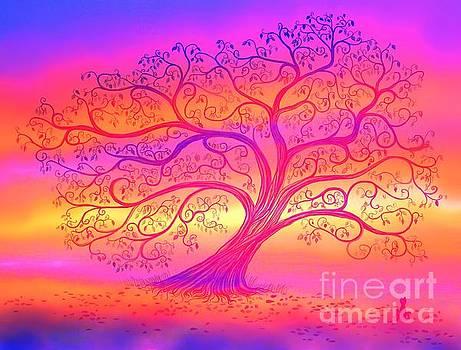 Nick Gustafson - Sunset Tree Cats