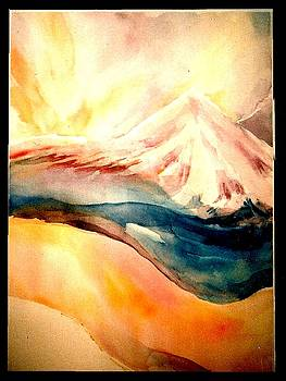 Sunset Upon Kailash by Wendy Wiese