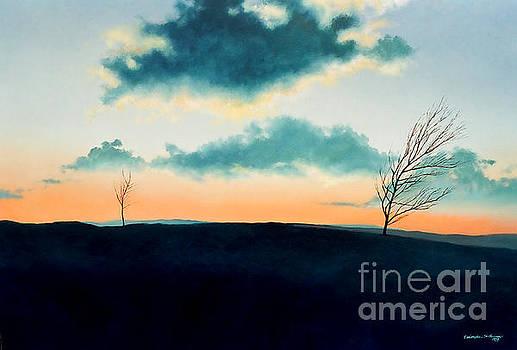 Christopher Shellhammer - Sunset upon Tuscarora Mountain