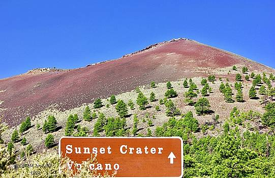 Sunset Crater Volcano by Lorna Maza