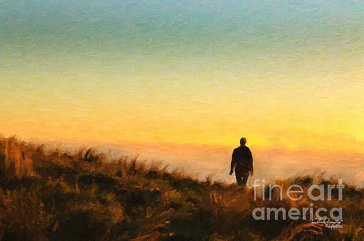Sunset Walk by Chris Armytage