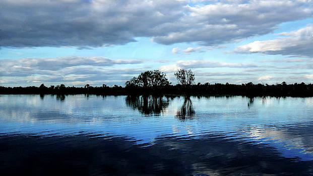 Lexa Harpell - Sunset - Yellow Water Billabong - Kakadu N P