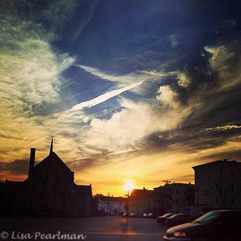 #sunset_madness #cityscape #ic_skies by Lisa Pearlman