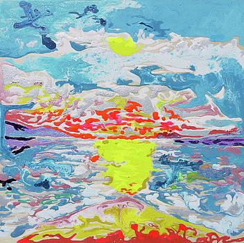 Sunsetting Big Beach by Joseph Demaree