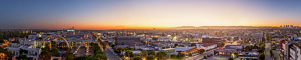 Glowing Sunset Culver City by Kelley King