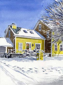 Sunshine and Snow by Hollis Machala