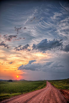 Sunshine and Storm Clouds by Fiskr Larsen