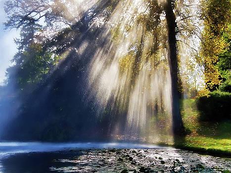 Sunshine and Water Rays by Susie Peek