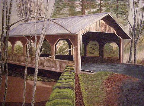 Sunshine at Cedar Crossing by  Joseph Soulagnet