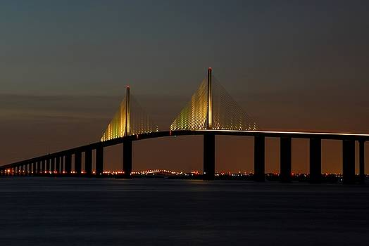 Sunshine Skyway Bridge by Jonathan Sabin