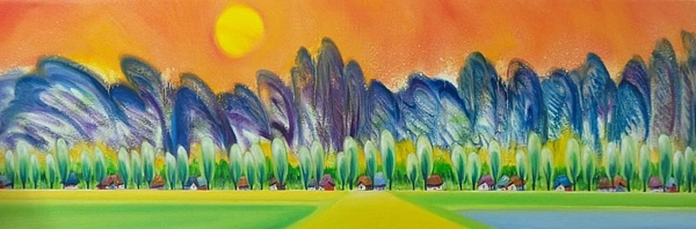 Sunshine Symphony by Tang Hong Lee