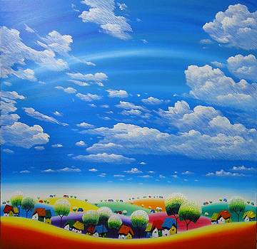 Sunshine White Cloud 2 by Tang Hong Lee