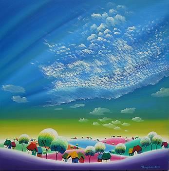 Sunshine wind cloud by Tang Hong Lee