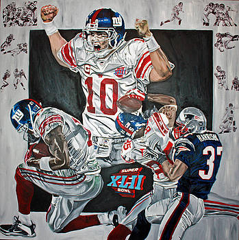 Super Bowl XLII Champs  by David Courson