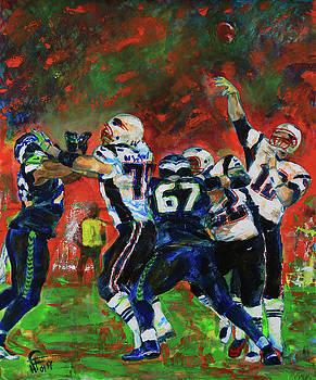 Super Bowl 49 by Walter Fahmy