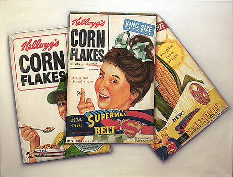 Super Corn Flakes by Vic Vicini