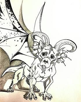 Super Dragon Dog by Merida Winters