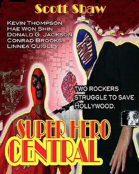 Super Hero Central by The Scott Shaw Poster Gallery