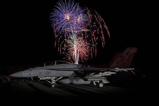 Super Hornet Celebration by Chris Buff