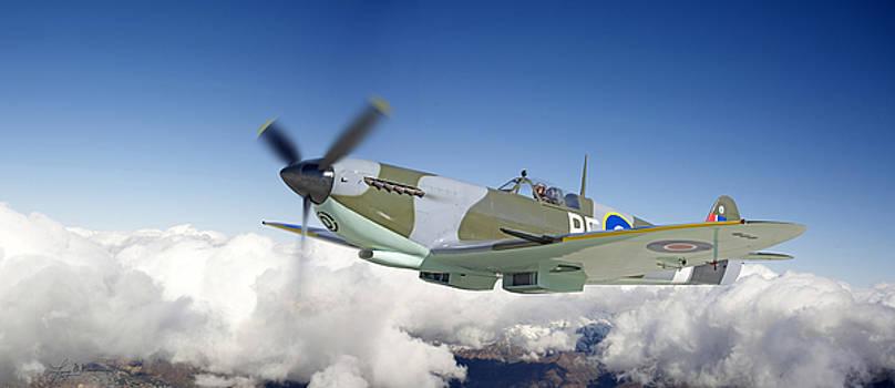 Super Marine Spitfire by Larry McManus