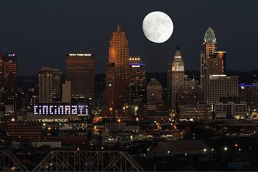 Randall Branham - Super moon Cincinnati 2016
