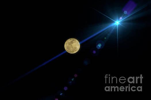 Super Moon Over Ecuador by Al Bourassa