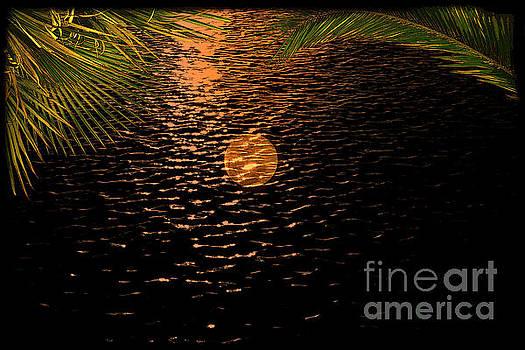 Super Moon Over South America by Al Bourassa