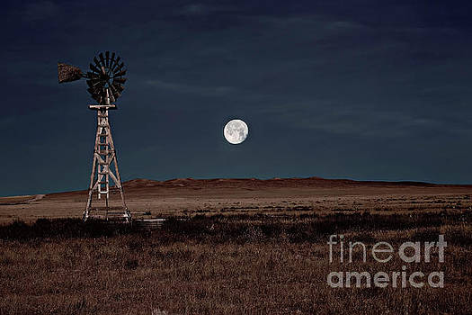 Super Moonrise Over Pawnee Grasslands by Jon Burch Photography