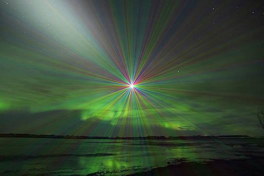 Super Nova in Aurora by Andrea Lawrence