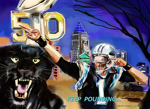 Superbowl Pounding by Mark Givens