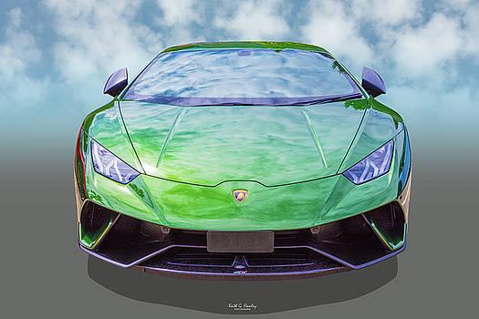 Supercar Green by Keith Hawley