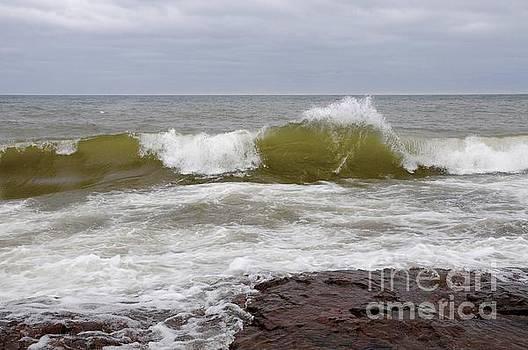 Superior April Waves by Sandra Updyke
