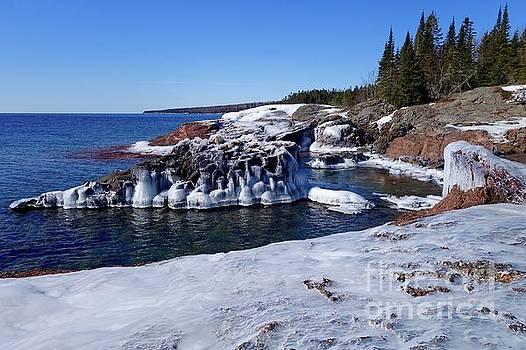 Superior Iced Shoreline by Sandra Updyke