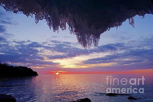 Superior March Sunrise by Sandra Updyke