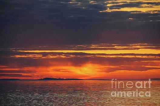 Superior Sky at Sunrise by Sandra Updyke