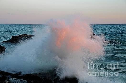 Superior Sundown Splash by Sandra Updyke