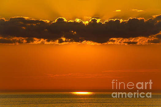 Superior Sunset by CJ Benson